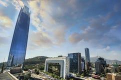 Центр города Сантьяго - Чили Стоковое Фото
