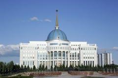 Центр города Ak Orda Астаны Казахстана стоковое фото
