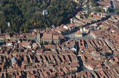 Центр города Brasov, Румыния стоковое изображение