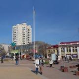 Центр города Khmelnytsky, Украины Стоковое фото RF