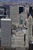 центр города New York зданий Стоковое Изображение RF