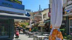 Центр города Serres, Греции стоковые фото