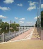 Центр города Ternopil Украина Стоковое фото RF