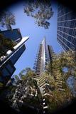 Центр города Австралия Мельбурна Стоковая Фотография