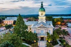 Центр города Афин, Georgia, США Стоковая Фотография RF