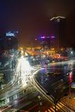Центр города, Бухарест, Румыния Стоковое фото RF