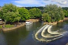 Центр города ванны - парк, Великобритания Стоковое Фото
