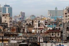 Центр города Гаваны Стоковая Фотография