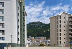 Центр города Гибралтара Стоковые Фотографии RF