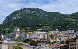 Центр города Гибралтара Стоковое фото RF