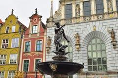 Центр города Гданьска Стоковые Изображения RF