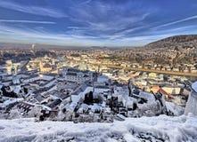 Центр города Зальцбурга Стоковое Изображение