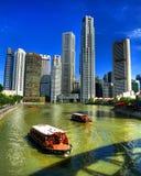 Центр города или центральная площадь Сингапура Стоковые Изображения