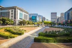Центр города Кейптауна - Южная Африка Стоковое Изображение