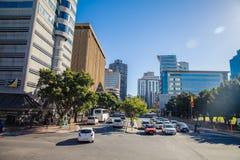 Центр города Кейптауна - Южная Африка Стоковое фото RF