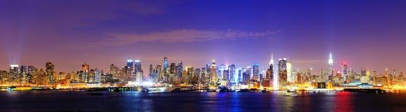 Центр города Манхаттан Стоковая Фотография RF
