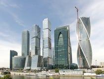 Центр города Москвы Стоковое Фото