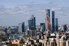 Центр города Москвы Стоковая Фотография