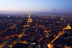 Центр города Парижа Стоковые Изображения RF