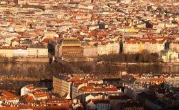 Центр города Праги Стоковое Изображение RF
