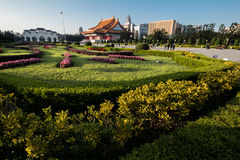 Центр города Тайбэя Стоковое Изображение RF