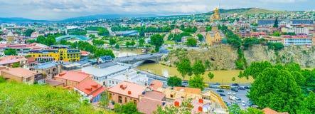 Центр города Тбилиси Стоковая Фотография RF
