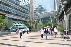 Центр города токио Стоковое фото RF