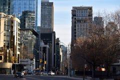 Центр города Торонто Канада Стоковая Фотография
