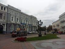 Центр города Украина Одессы Стоковое Изображение