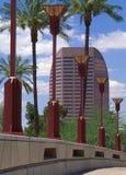Центр города Феникс, AZ Стоковая Фотография