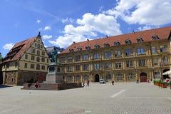 Центр города Штутгарта, Германии Стоковое Фото