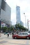 Центр города Шэньчжэня стоковое изображение rf