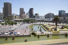 Центр города Южная Африка Кейптауна Стоковая Фотография
