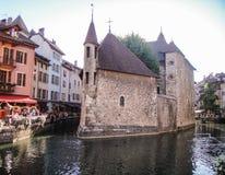 Центр города Annency стоковое изображение
