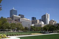 Центр города l города Далласа Стоковые Фотографии RF