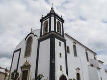 Центр города Obidos Стоковая Фотография RF