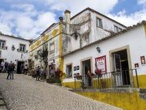 Центр города Obidos Стоковое фото RF
