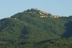 Центр города Rocca Priora в Castelli Romani Стоковые Фото