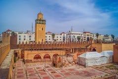 Центр города Settat старый стоковые изображения