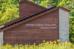 Центр для посетителей парка штата Brien ` Вильяма o Стоковое Изображение