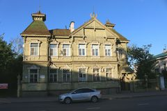 Центр древнего города Kostroma стоковые фотографии rf