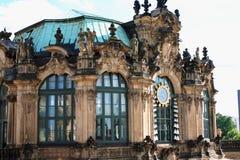 Центр Дрездена, Германии, исторических и культурных освободившееся государство o Стоковое Изображение