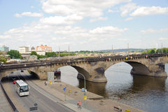 Центр Дрездена стоковое фото rf