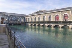 Центр Женевы культурный Стоковые Изображения RF