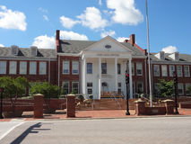 Центр искусства Cary в Северной Каролине стоковое изображение rf