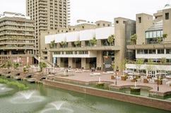 Центр искусств барбакана, город Лондона Стоковое фото RF