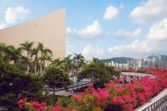 центр культурное Hong Kong Стоковые Изображения