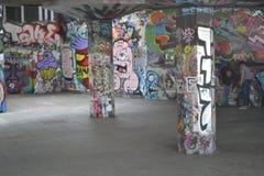 Центр Лондон южного берега парка конька Стоковая Фотография RF