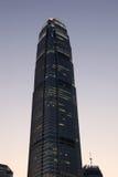 Центр международных финансов в Гонконге Стоковое Изображение