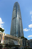 Центр международных финансов Гонконга Стоковое Изображение RF